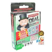 KARTU NEW MONOPOLY DEAL + 20 EXPANSION CARD GAME