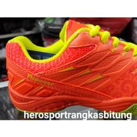 Sepatu flypower losari 2 / new 2018 ready orange /sepatu badminton