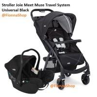 Stroller Kereta Bayi Joie Meet Muze Travel System Universal Black