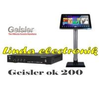 DVD Player Karaoke Geisler OK 200 PLUS Layar Touch Screen 19 Geisler