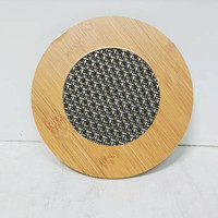 Heat Pad-Tatakan Gelas/Mangkok Kayu 17cm