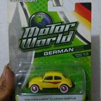 Diecast Mobil VW beetle classic kodok Geenlight
