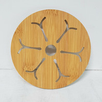 Tatakan Gelas/Mangkok Kayu 15cm