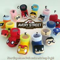 Kaos Kaki Bayi Avery / Kaos Kaki Bayi 3D Superhero