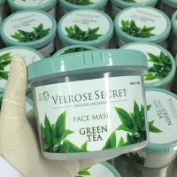 Lulur Wajah BPOM Velrose Secret Nature Organic - GREEN TEA