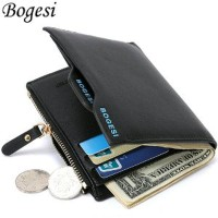 Dompet Kulit Lipat Pria Import Premium Quality BOGESI Card Hol ilf