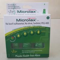 MICROLAX GEL ISI 3 TUBE