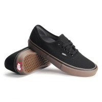 SEPATU VANS AUTHENTIC BLACK GUM / FULL BLACK GUM / VANS MURAH