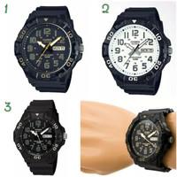 Jam tangan pria cowok casio MRW-210H original garansi resmi 1 tahun