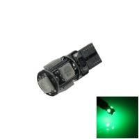 Lampu Senja LED T10 CANBUS Green 5 Titik Mata Hijau Sein Mundur