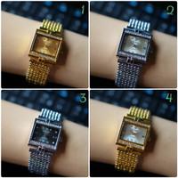 Jam tangan wanita cewek guess rantai murah meriah