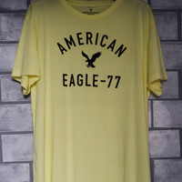 Baju Kaos Oblong Crewnek Pria American Eagle Original #1010 - L