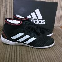 Sepatu Futsal Adidas Predator Tango 18.3 In CP9282 Black White Ori