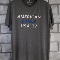 Baju Kaos Oblong Crewneck Pria American Eagle Original #1006 - L