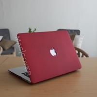 Macbook Case RED MAROON A1706 A1707 A1708 PRO RETINA  TOUCHBAR 13 15