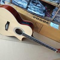 Gitar akustik elektrik cort ibanez eq7545r custom