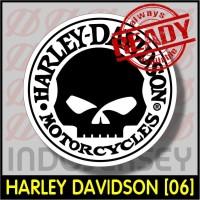 Patch Stiker Setrika Flock Logo - HARLEY DAVIDSON [06]