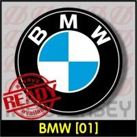 Patch Stiker Setrika Flock Logo - BMW [01]