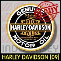 Patch Stiker Setrika Flock Logo - HARLEY DAVIDSON [09]