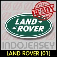 Patch Stiker Setrika Flock Logo - LAND ROVER [01]
