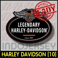 Patch Stiker Setrika Flock Logo - HARLEY DAVIDSON [10]