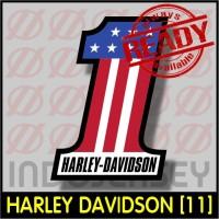 Patch Stiker Setrika Flock Logo - HARLEY DAVIDSON [11]