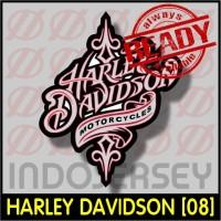 Patch Stiker Setrika Flock Logo - HARLEY DAVIDSON [08]