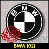 Patch Stiker Setrika Flock Logo - BMW [02]
