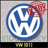 Patch Stiker Setrika Flock Logo - VW Volkswagen [01]