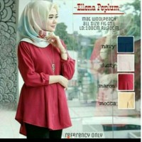 Milena peplum blouse