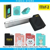 Xiaomi Mifa Mifa H1 Portable speaker 3.5mm Audio Plug and Play