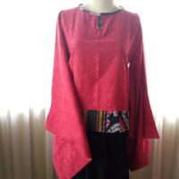 Qten01, Bahan Tenun, modifikasi Tunik & Kimono