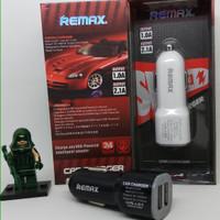 REMAX CAR CHARGER Dual Slot USB 1.0A & 2.1A