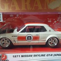 DIecast Jada Toys 1971 Nissan Skyline GT-R  (KPGC10)