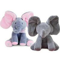 BEST QUALITY Boneka Gajah Cilukba Bisa Menyanyi (READY JAKARTA)