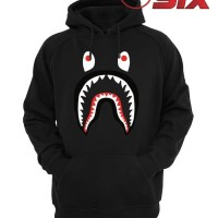 Jaket Hoodie Sweater Jumper A Bathing Ape Bape Shark Jersey Hypebeast