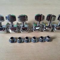 Grosir Dryer Gitar Kaleng Chrome 1 set Lengkap Termurah Min 12 Set