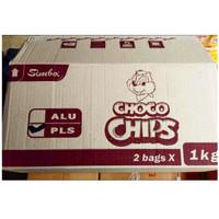 Simba Choco Chips Koko krunch 1 dus isi 2 bags X1Kg