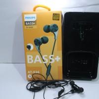 Headset Philips AT 036 Magnet Earphone handsfree super Bass