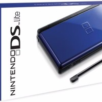 NDS LITE NINTENDO DS LITE BLUE MMC 8GB FULL GAME LIKE NEW