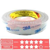 Double Tape 3M PE Foam / Solasi BB Busa 23mm X 4.5 M Doble Tape