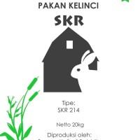 Makanan kelinci SKR 214 repack 1 kg