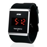 SKMEI Jam Tangan LED Touch Screen Layar Sentuh - 0983AT - Black