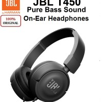 Original JBL On-Ear Headphone T450 Garansi Resmi IMS Indonesia