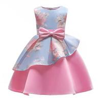 GA2597 LESHIA DRESS BLUE (BAJUKIDDIE) DRESS ANAK PEREMPUAN PESTA IMPOR