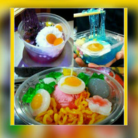 Paket mie jelly + sirup