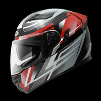 Helm Zeus ZS813 / Z813 Red Silver
