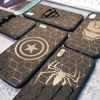 Marvel Black Case For Xiaomi Redmi Note 5 Pro