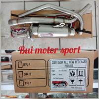 Knalpot proliner tr1r short honda cbr150 facelift k46 knalpot cbr 150r