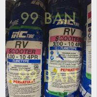 IRC RV : 300-10 (SATUAN) BAN MOTOR VESPA CLASSIC VELG 10 (PTS/CORSA)